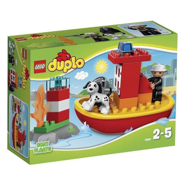 Конструктор Lego Duplo Пожарный катер