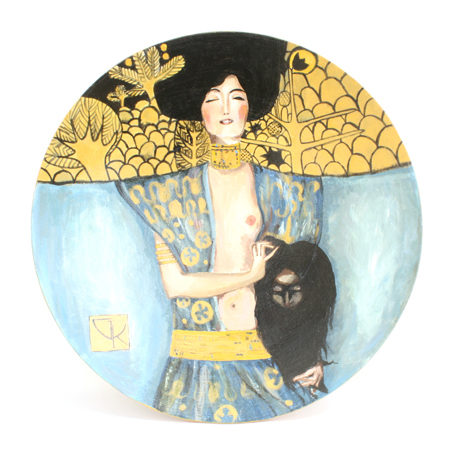 Декоративная тарелка «Юдифъ», Климт
