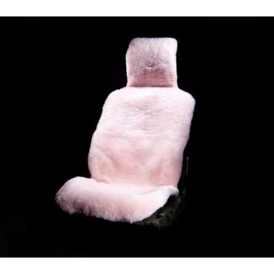 Красивая теплая накидка на сиденье