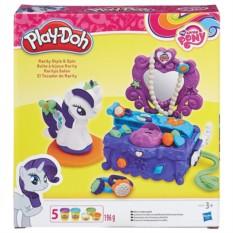 Игровой набор с пластилином Туалетный столик Рарити