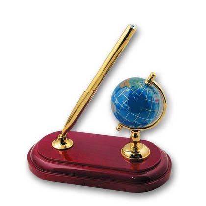 Набор: модель глобуса на стальн.подставке