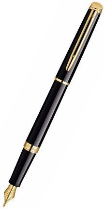 Перьевая ручка Waterman Hemisphere, цвет: Mars Black/GT