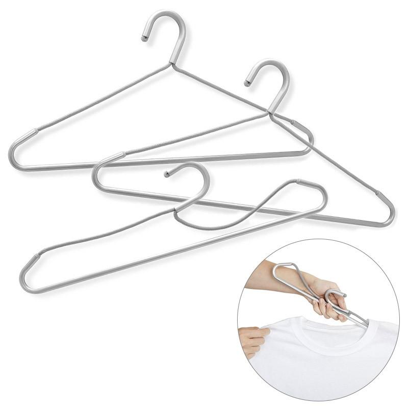 Набор складных вешалок Foldaway, серый