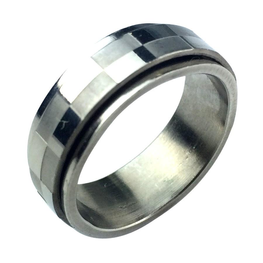 Кольцо из стали Respect Steel SRPL14