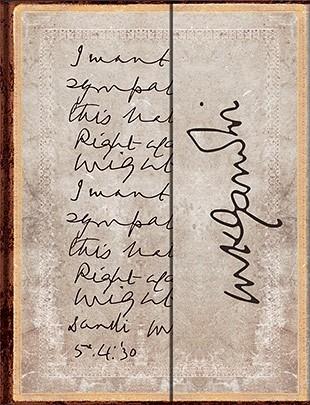 Блокнот Paperblanks Махатма Ганди, Право против силы