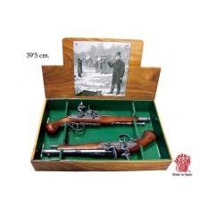 Дуэльные пистолеты 18 века