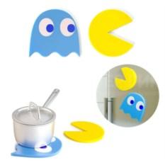 Подставки под горячее на магнитах Pac-Man Trivet
