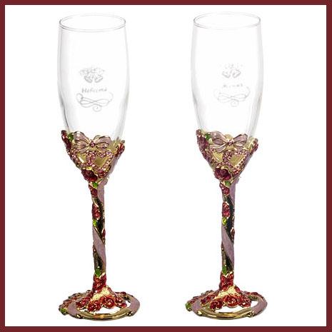 Набор для шампанского «Жених и невеста»