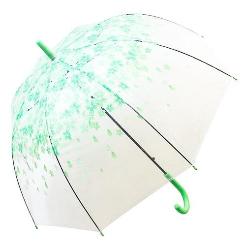 Купольный зонт Зеленые цветы