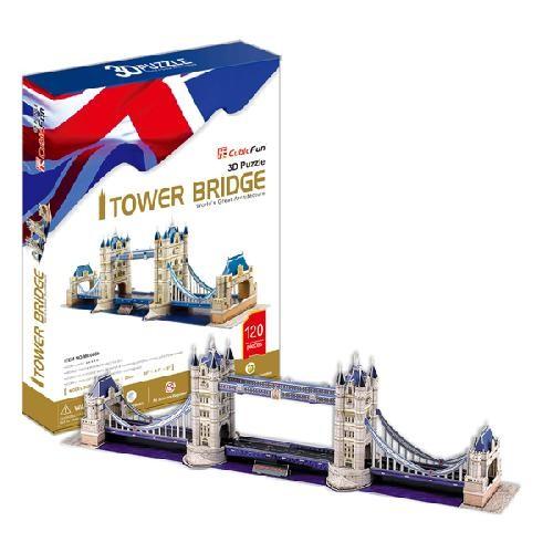 Модель для сборки Тауэрский Мост Cubic Fun