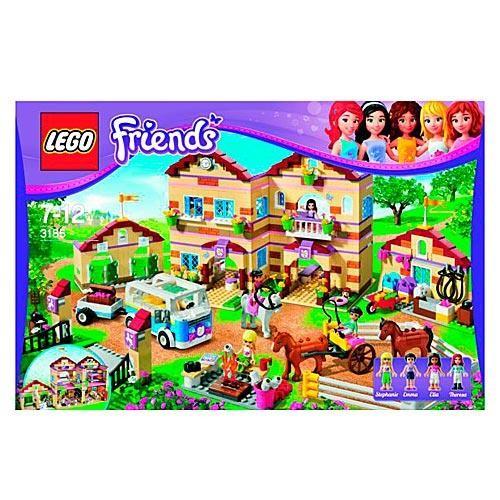Конструктор LEGO Friends Школа верховой езды
