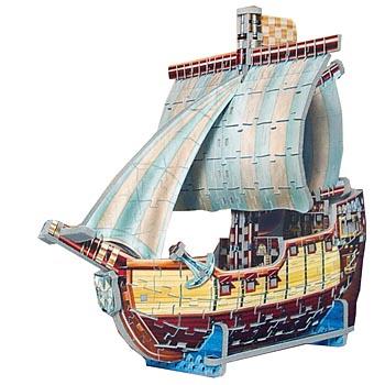Пазл Пиратский корабль