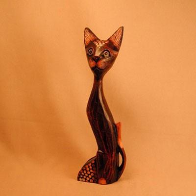 Статуэтка «Кошка изогнутая»