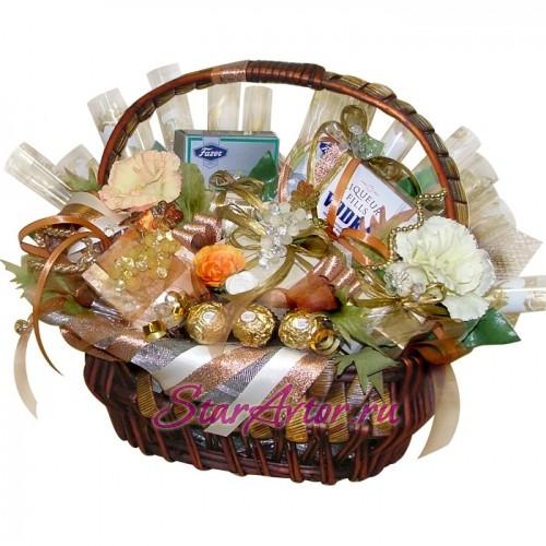 Букет из конфет Праздничный день