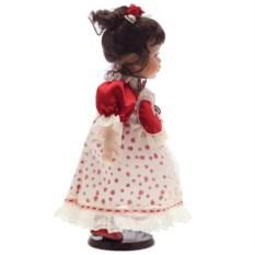 Фарфоровая кукла в платье Инга