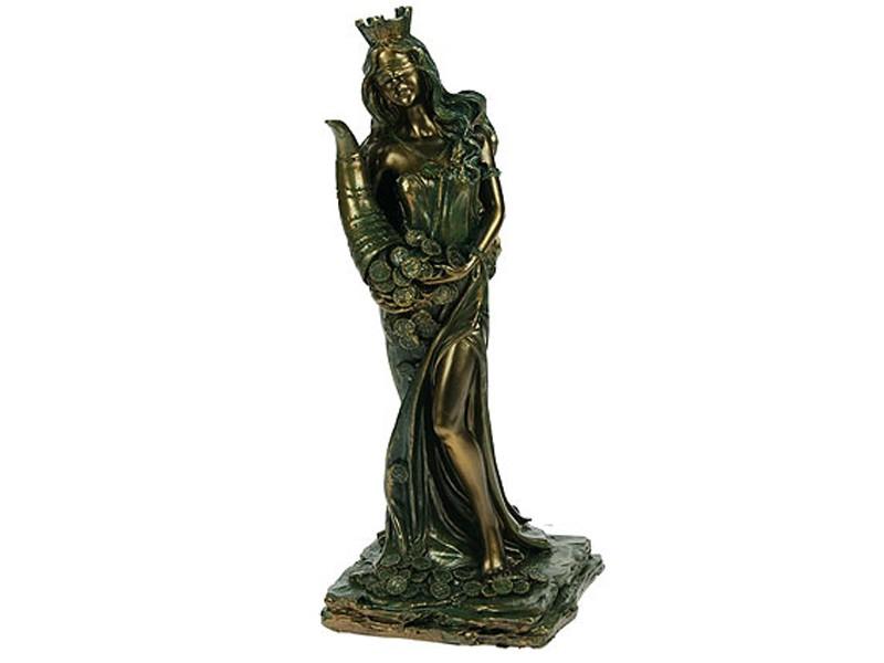 Статуэтка Римская богиня счастья и удачи – Фортуна