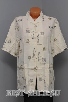 Рубашка китайская с коротким рукавом