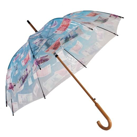Зонт-трость ДЕНЕЖНЫЙ ДОЖДЬ