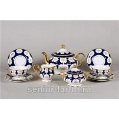 Чайный сервиз Цветы на 12 персон (27 предметов)