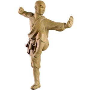 Фигура воина Кунг Фу Школа Шао Линь