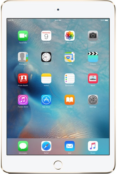 Apple iPad mini 4 64gb Wi-Fi + Cellular (цвет Золотой/Gold)