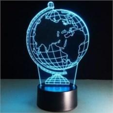Настольная 3D-лампа Глобус