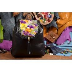 Дизайнерский рюкзак Яркие цветы