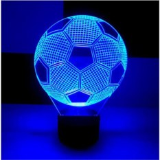 3D-светильник Футбольный мяч