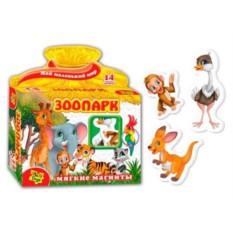 Магнитная игра «Зоопарк»
