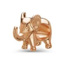 Позолоченная подвеска в виде слона