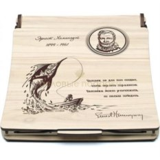 Набор Хемингуэй (блокнот, ручка, механический карандаш)
