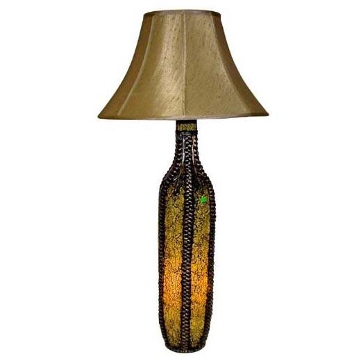 Светильник с абажуром «Бутыль»