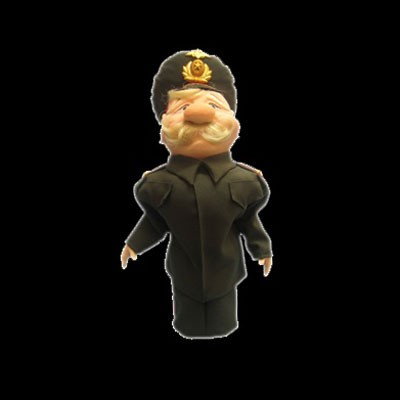 Кукла-бар «Генерал Вооружённых сил»