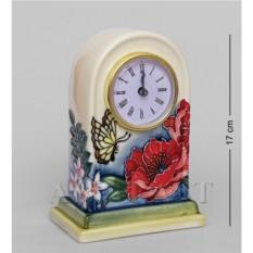 Фарфоровые часы Цветущий сад (Pavone)