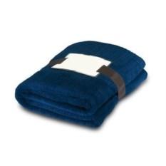 Темно-синий флисовый плед Royal Blue