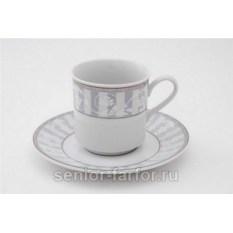 Набор чашек 0,15 л с блюдцем Leander Сабина 31033