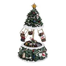 Новогоднее музыкальное украшение Веселая карусель