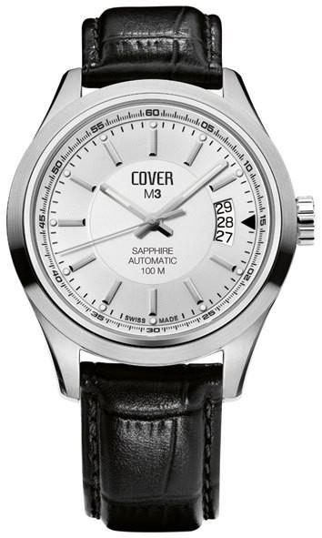 Наручные мужские часы Cover, модель M3.ST22LBK