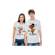 Парные футболки My bambi, my baby с изображением оленей