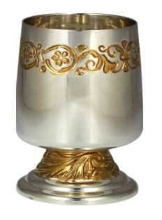 Серебряная рюмка Мерная