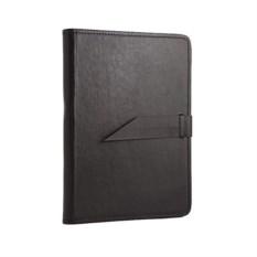 Черная кожаная папка для бумаг