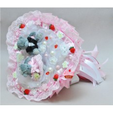 Букет из мягких игрушек Свадебный