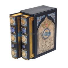 Подарочная книга Сказания о русской земле в коробе