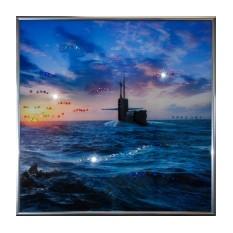 Картина Swarovski Подводная лодка