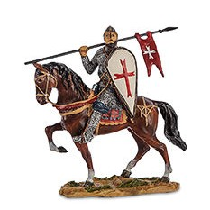 Статуэтка Конный рыцарь крестоносец