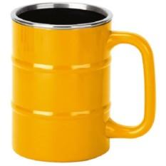 Желтая кружка Баррель