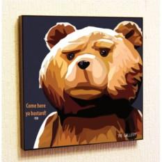 Картина в стиле поп-арт Тед