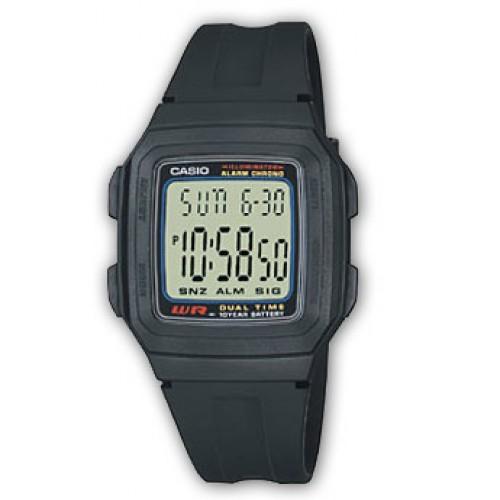 Мужские наручные часы Casio Standart Digital F-201W-1A