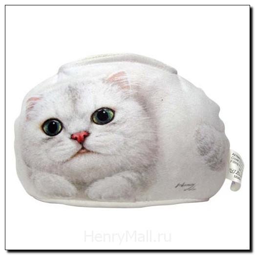 Подставка для мобильного - кошка Оливия