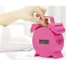 Часы-будильник Брось монетку